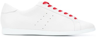 Högl contrasting lace sneakers