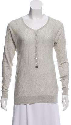Zadig & Voltaire Long Sleeve Knit Top