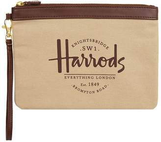 Harrods Sandringham Clutch Bag
