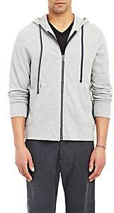James Perse Men's Zip-Up Hoodie-Gray