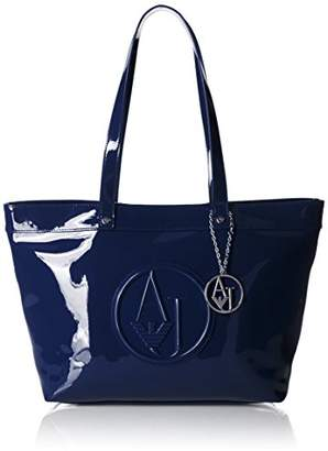At Armani Jeans Patent Tote