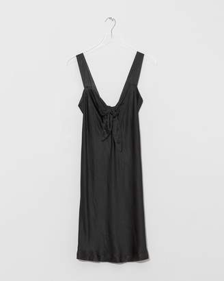 Raquel Allegra Tie Front Dress