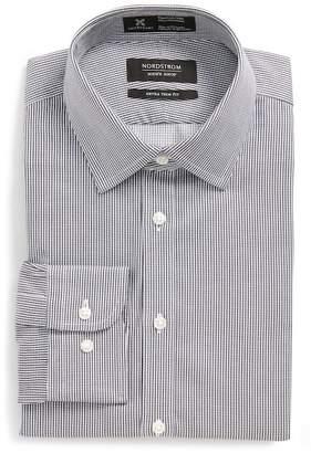 Nordstrom Smartcare(TM) Extra Trim Fit Stripe Dress Shirt