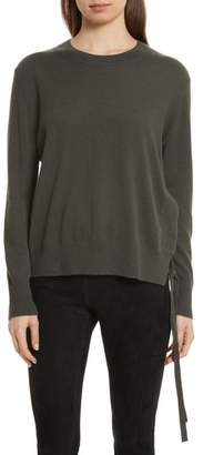 Vince Side Tie Cashmere Sweater