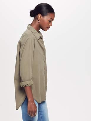 Xirena XiRENA Beau Cotton Poplin Shirt - Olive Drab