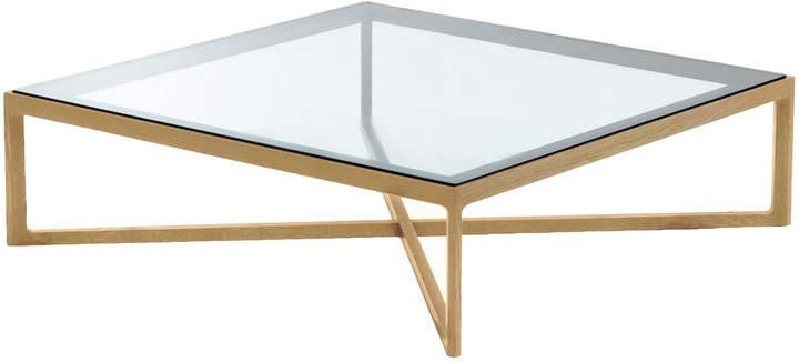 Knoll International Knoll - Marc Krusin Coffee Table, Eiche / Glasplatte