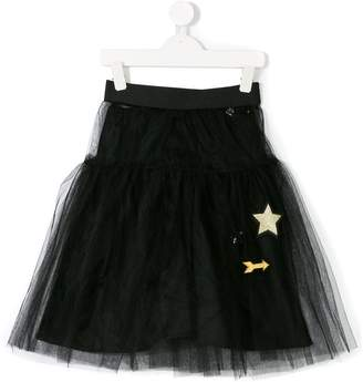 So Twee By Miss Grant embroidered tulle skirt