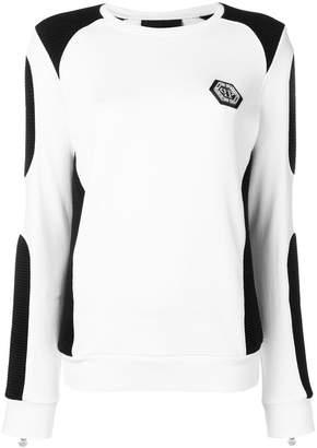Philipp Plein colour block sweatshirt