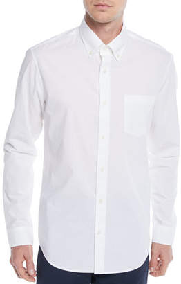 Vince Men's Poplin Pocket Sport Shirt