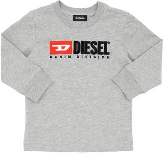 Diesel Logo Cotton Sweatshirt