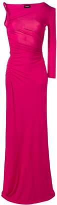 DSQUARED2 asymmetric long dress