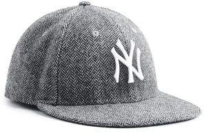 Todd Snyder + New Era Exclusive New Era NY Yankees Hat In Abraham Moon Herringbone Lambswool