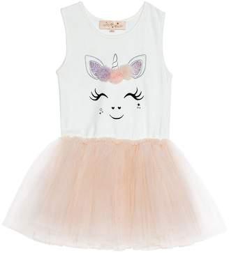 TUTU DU MONDE - Toddler Girl's Gracie Tutu Dress Lychee