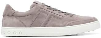 Tod's low-top suede sneakers