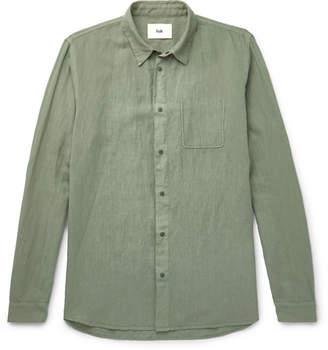 Folk Linen and Cotton-Blend Shirt