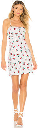 About Us Sherrie Cherry Mini Dress