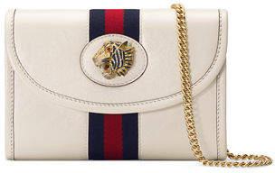 Gucci Rajah Mini Leather Crossbody Bag
