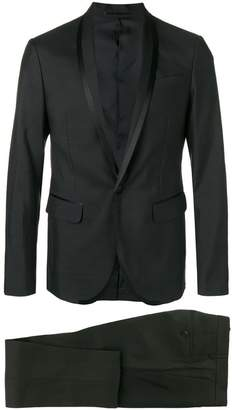 DSQUARED2 silk trimmed dinner suit