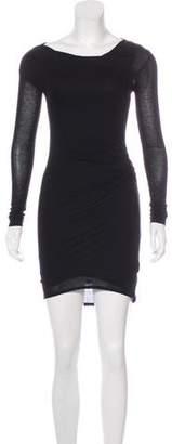 Helmut Lang Long Sleeve Mini Dress w/ Tags