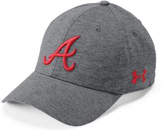 Under Armour Men's Atlanta Braves Closer Adjustable Snapback Cap