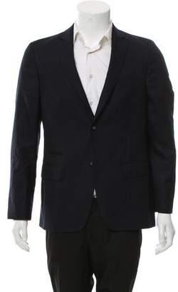 Officine Generale Wool Two-Button Blazer