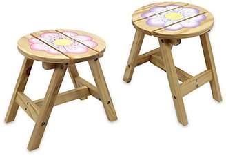 Teamson Two-Piece Magic Garden Outdoor Chairs