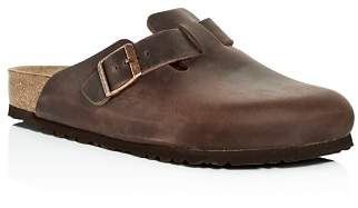 Birkenstock Men's Boston Oiled Leather Mules