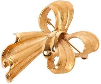 Dolce & Gabbana Yellow Metal Pins & brooches