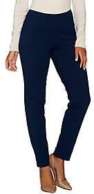 Women with Control Petite Tummy Control SlimLeg Ankle Pants