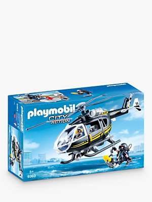 Playmobil City Action 9362 SWAT Helicopter