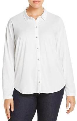 Eileen Fisher Plus Classic Collar Shirt