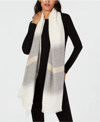 Eileen Fisher Alpaca Striped Scarf