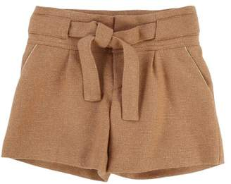 Chloé Elasticated Waisted Lurex Shorts