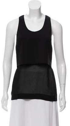 Dion Lee Sleeveless Semi-Sheer Top
