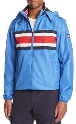Tommy Hilfiger Striped Hooded Jacket