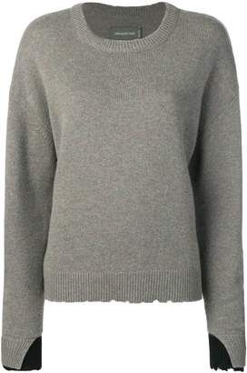 Zadig & Voltaire Zadig&Voltaire Gaby layered cuff pullover