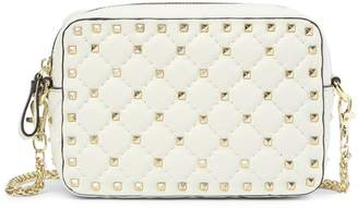 Tiffany & Co. and Fred Valente Studded & Quilted Leather Shoulder Bag