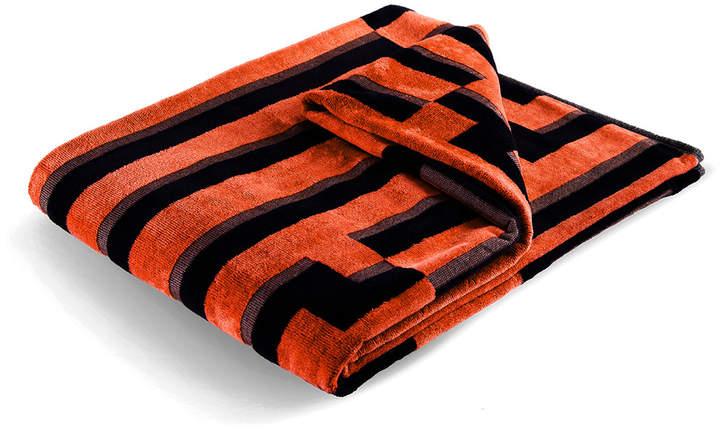 Zuzunaga - Orange Waves Strandtuch, 100 × 180 cm