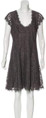 Joie Knee-Length Lace Dress