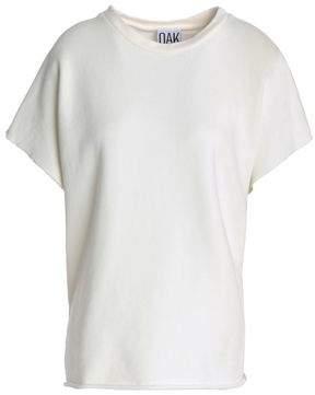 OAK French Cotton-terry T-shirt