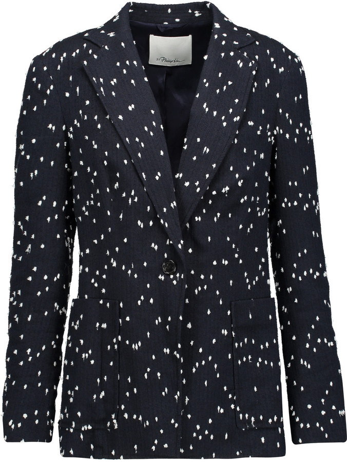 3.1 Phillip Lim 3.1 Phillip Lim Cotton-blend bouclé blazer