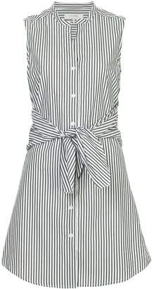 Frame candy stripe shirt dress