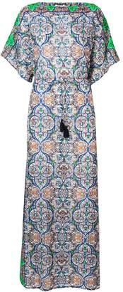 Tory Burch mosaic print maxi dress