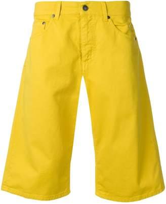 MSGM relaxed denim shorts