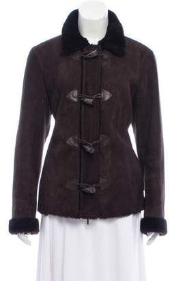 Pologeorgis Shearling Toggle Jacket
