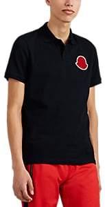 Craig Green 5 MONCLER Men's Logo-Patch Cotton Piqué Polo Shirt - Navy