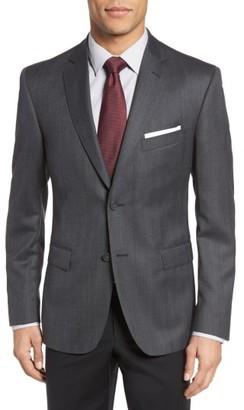 Men's Jb Britches Classic Fit Herringbone Wool Sport Coat $395 thestylecure.com