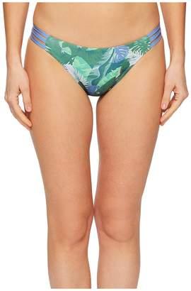 Letarte Lattice Side Medium Coverage Bottom Women's Swimwear