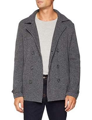 Benetton Men's Coat Suit, (Grey Melange 7e4), (Size: X-Small)