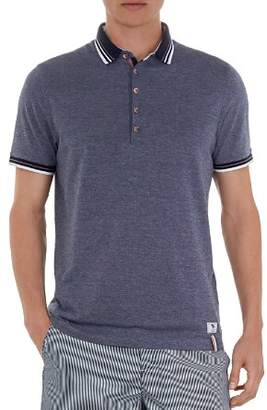 Ted Baker Shark Oxford Regular Fit Swim Polo
